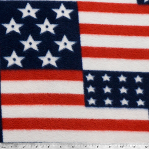 Flags Patriotic Anti-pill Fleece Fabric