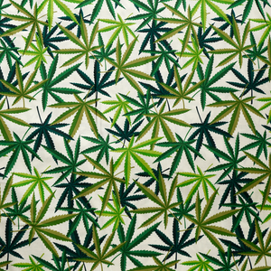 Herb - Natural/Green  - Alexander Henry Collection 100% Cotton Fabric