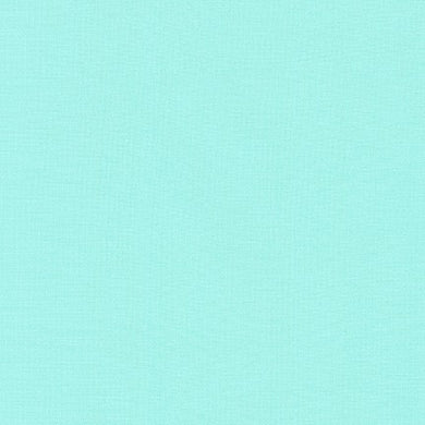 Kona Cotton Fabric - Aqua