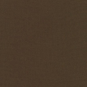 Kona Cotton Fabric - Chocolate