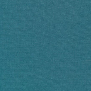 Kona Cotton Solids - Teal Blue