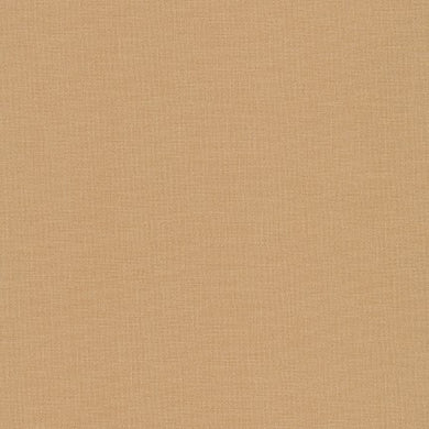 Kona Cotton Fabric - Wheat