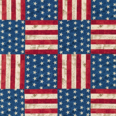 Novelty Cotton - Americana - Patriotic