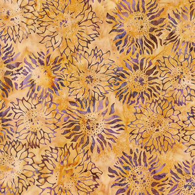 Artisan Batiks: Inspired by Nature: Imported Batik Fabric - Yarrow