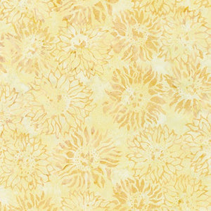 Artisan Batiks: Inspired by Nature: Imported Batik Fabric - Yellow