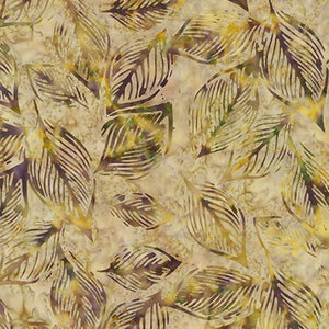 Artisan Batiks: Inspired by Nature: Imported Batik Fabric - Spice