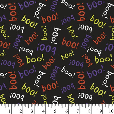 Halloween - Scary Boo 100% Cotton