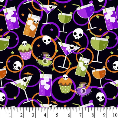 Halloween - Toxic Tonic 100% Cotton
