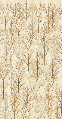 A Walk on the Path: Cotton Quilting Fabric - Ivory SRKM-19107-15 IVORY