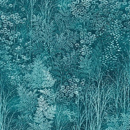 A Walk on the Path - A Color Story - Teal