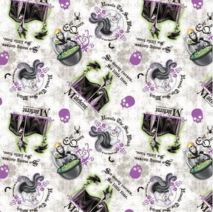 Halloween - Disney Villainess 100% Cotton