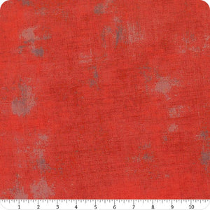 Red - Grunge Basics by Moda Fabrics
