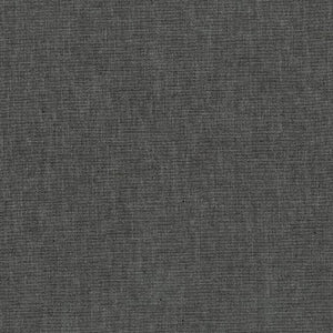 Chambray Cotton Blend Fabric - charcoal