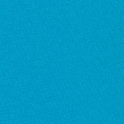 Kona Cotton Fabric - Turquoise