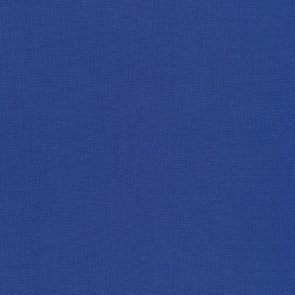 Kona Cotton Fabric - Deep Blue