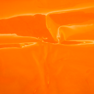 Orange Transparent Vinyl Fabric