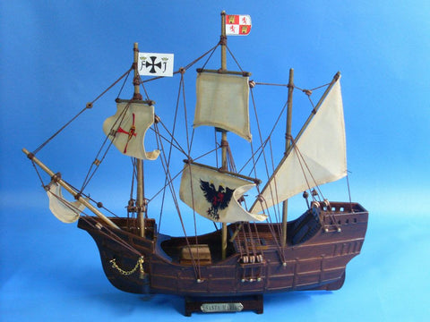 Historic Ship | Santa Maria Replica Tall Model Ship 14""