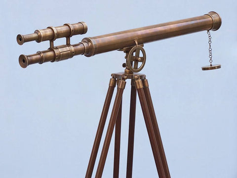 Telescope | Antique Brass, Griffith Astro 64""