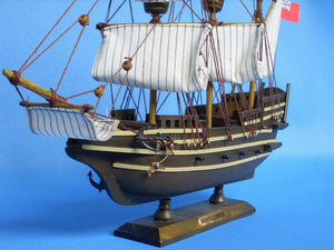 Historic Ship | Mayflower Wooden Tall Model Ship 14""