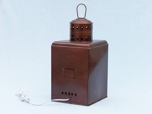 Lamp | Antique Copper Port and Starboard Electric 21""