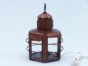 Lamp | Antique Copper Clipper Electric Lamp 15""