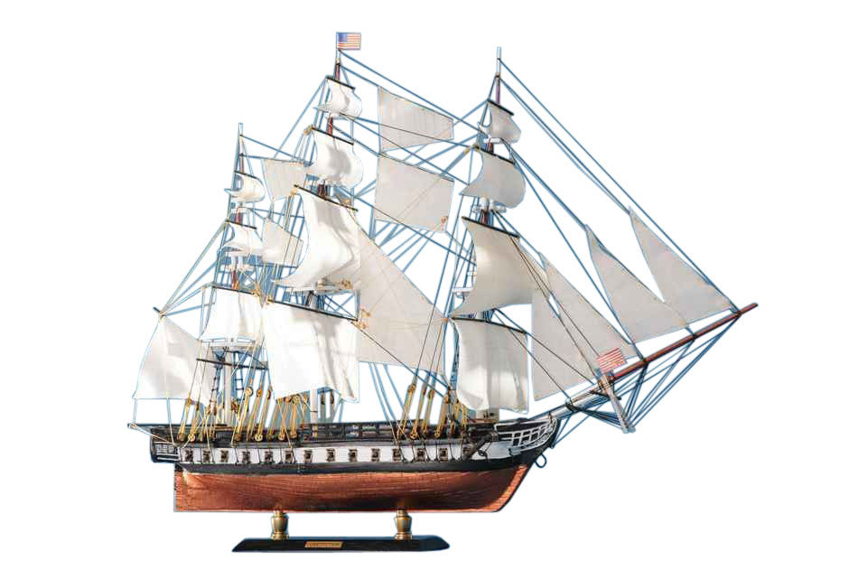 Old Ironsides - USS Constitution - Limited Tall Model Ship 20