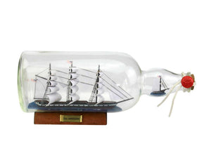 Old Ironsides - USS Constitution - Ship in a Bottle - 11""