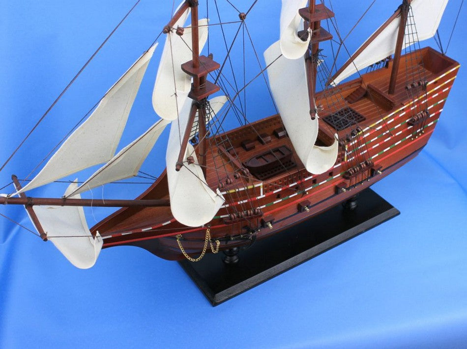 Wooden Mayflower Tall Model Ship 30