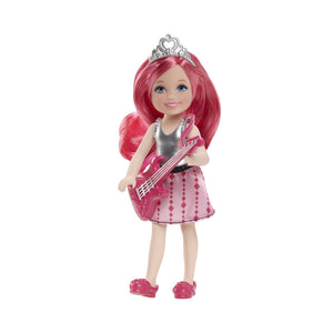 Barbie Rock N Royals Pink Princess Chelsea Doll CKB68-CKB69