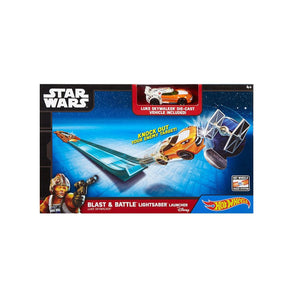 Hot Wheels Star Wars BLAST AND BATTLE  Launcher - Luke SkyWalker