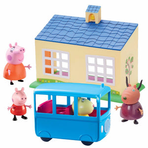Peppa Pig School & Bus Playset