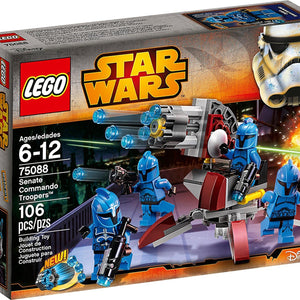 Lego Star Wars Senate Commando Troopers , Lego 75088