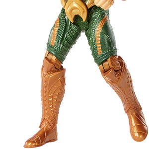 Mattel DC Justice League Deluxe Aquaman 6 Inch Talking Figure
