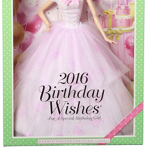 Barbie Birthday Wishes Collector Doll 2016 DGW29