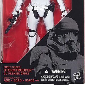 Starwars E7 Black Series Figures- First Order Storm Trooper