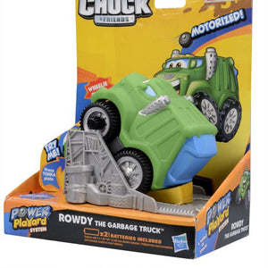 Tonka Rowdy the Garbage Truck,Green