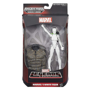 Marvel The Amazing Spiderman White Tiger Action Figure