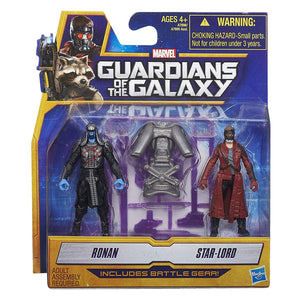 Marvel Guardians of The Galaxy Star-Lord and Ronan Figure