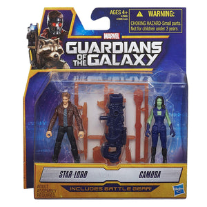 Marvel Guardians of The Galaxy Star-Lord and Gamora Figure