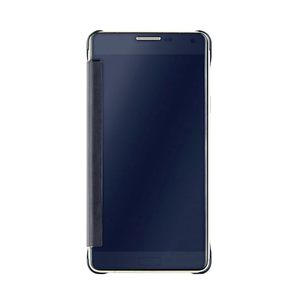 Barrier® Clear View Mirror Finish Flip Cover for Samsung Galaxy A 7 - 2015 model( BLUE )