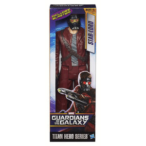 Marvel Guardians of The Galaxy Titan Hero Series Star-Lord Figure, 12""