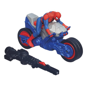 Marvel Ultimate Spider-Man Blast 'N Go Spider Cycle Vehicle - Pack of 1