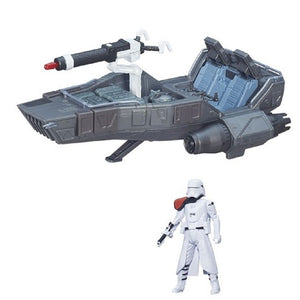 First Order Snowspeeder- Star Wars Force Awakens Vehicle Action Figure Toy Playset by Star Wars B3673-B3672