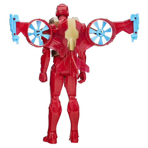 Marvel Titan Hero Series Iron Man With Hover Pack B6156-B5776