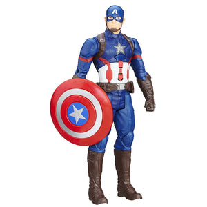 Marvel Titan Hero Series Captain America Electronic Figure B6176