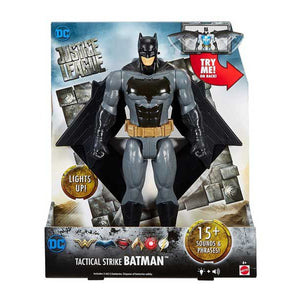 "DC Justice League Tactical Strike Batman Figure, 12"" FGH04-FGH05"