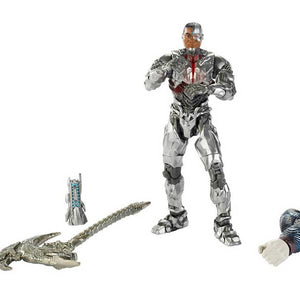 "DC Comics Multiverse Justice League Cyborg Figure, 6"" FHG04-FHG09"
