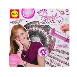 Alex Toys Do It Yourself Wear Pretty Pearl Jewellery Kit, Multi Color 1738