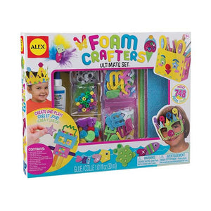 ALEX Toys Craft Foam Crafters Ultimate Set 558W