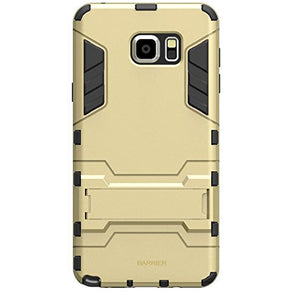 Barrier Slim Armor Style Shockproof Case for Samsung Galaxy Note 5 ( GOLD )